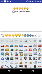 How to Integrate Emojis Keyboard in Android App - Coding Shiksha