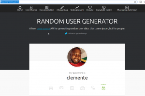 JAVASCRIPT FETCH API EXAMPLE – BUILD A RANDOM USER GENERATOR