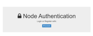 Node.js Passport Facebook Authentication Using Express and MongoDB Full Project