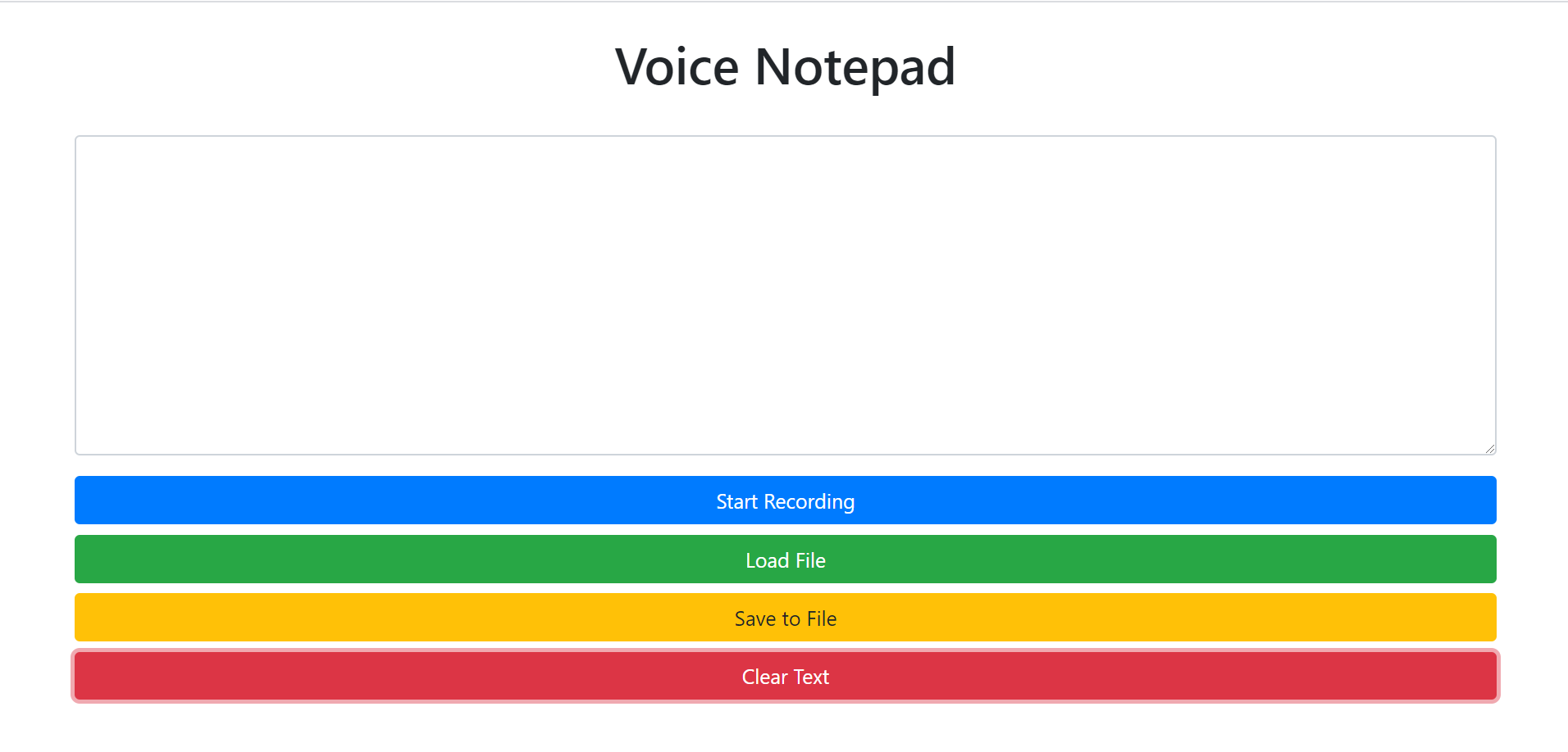 Build a Voice Notepad Using Native File System API & Web Speech API in Javascript Full Project For Beginners