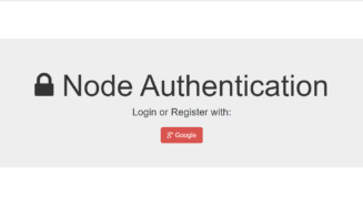 Node.js Passport Google Authentication Using Express Full Project