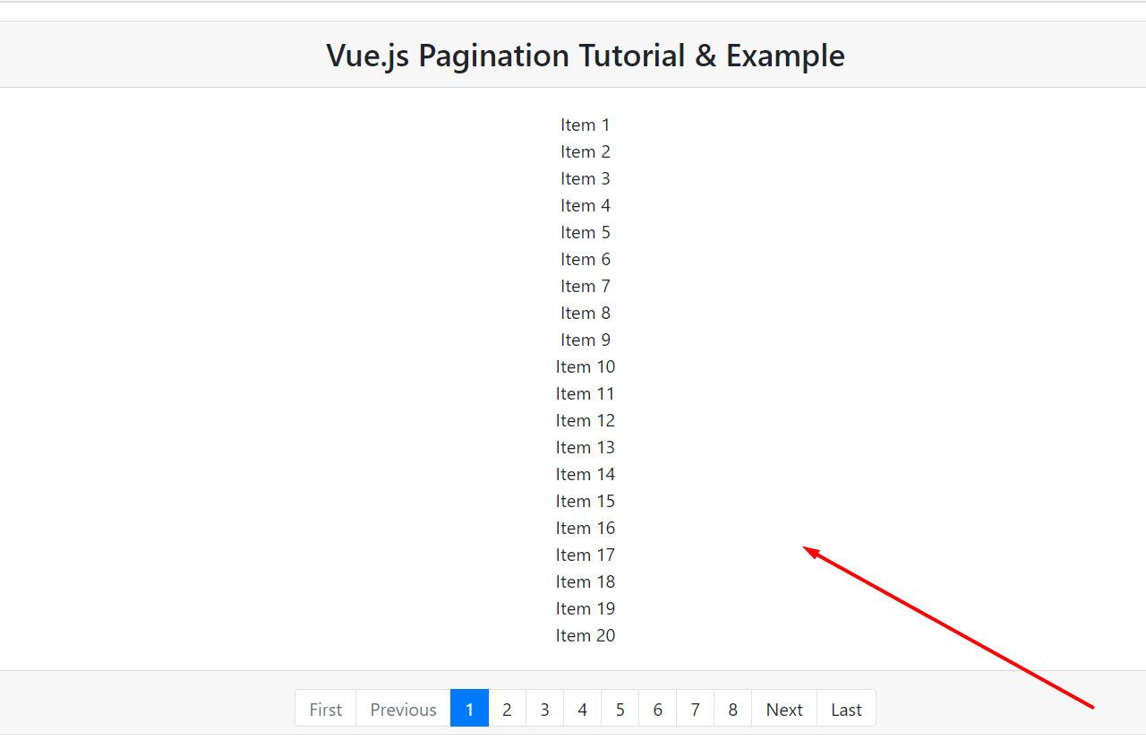 Build Simple Vue.js Pagination Using jw-vue-pagination Library Full Tutorial For Beginners