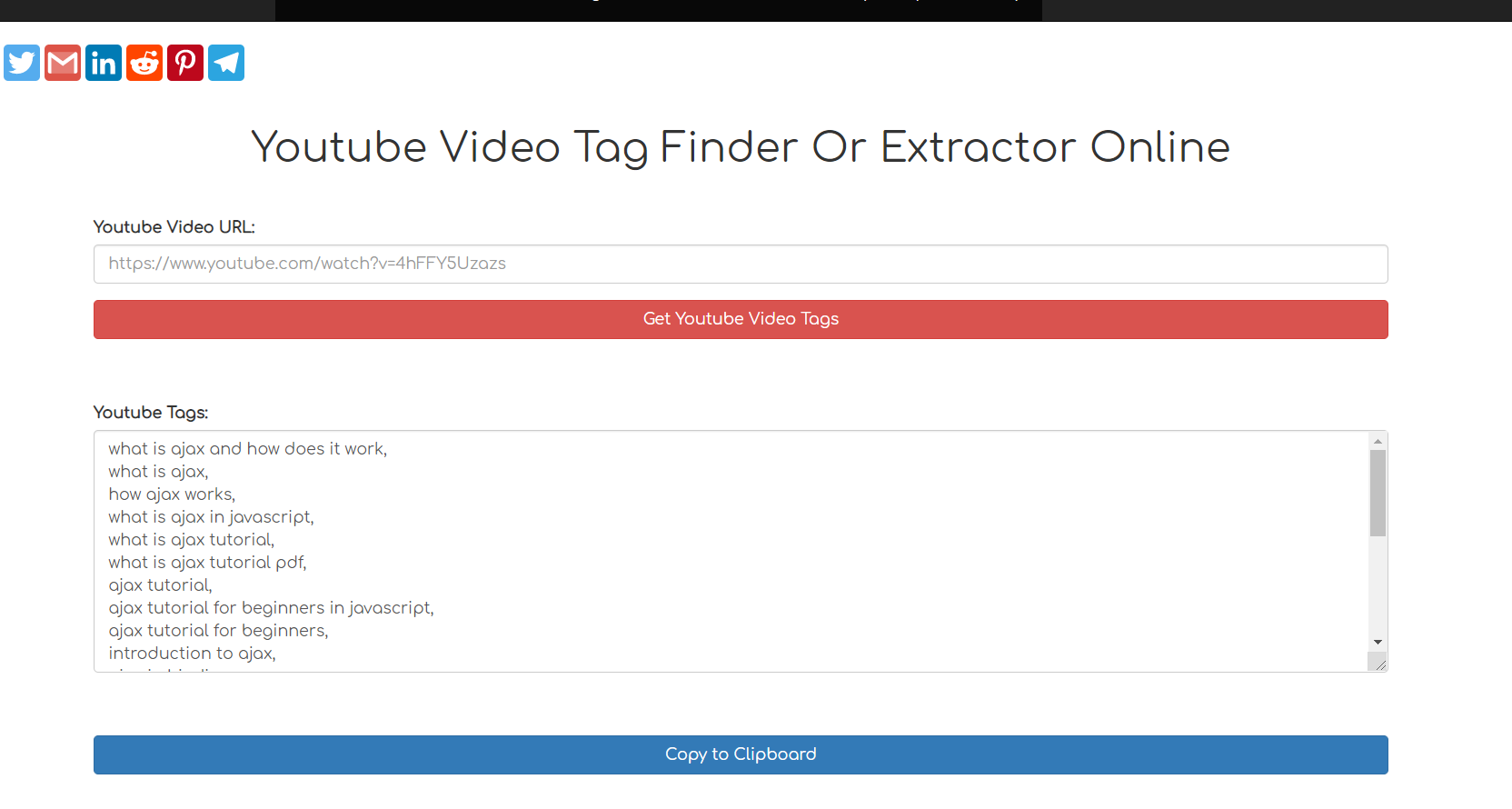 Node.js Express Python Script to Extract Youtube Video Tags Using BeautifulSoup4 Library Full Project 2020