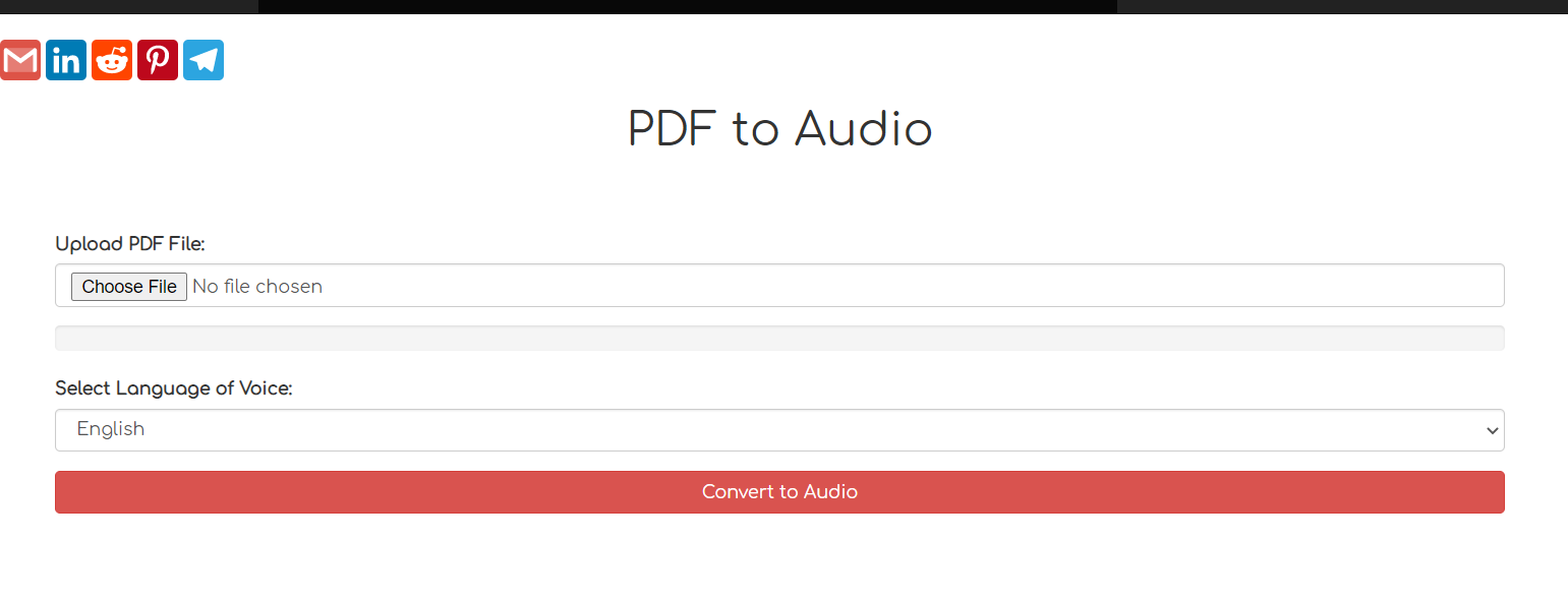 Build a PDF to Audio Mp3 Converter Web App in Node.js and Express Using GTTS Library Full Tutorial For Beginners