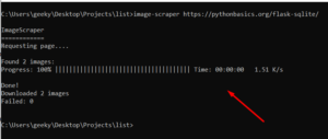 Python 3 ImageScraper Library Script to Scrape and Download all Images From Website URL Full Project For Beginners