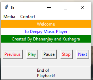 Python Tkinter GUI Script to Build Music Mp3 Player Using Pygame,WinSound and Pickle Library Full Project For Beginners