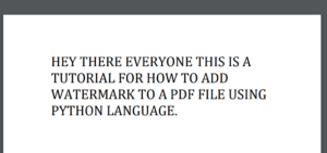 Python 3 PDFMiner Library Example to Extract or Read Text Content From PDF File Full Tutorial For Beginners