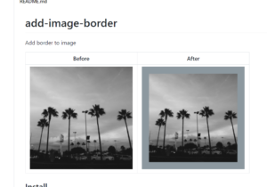 Node.js Project to Add Border Outline to Image Files Using add-image-border Library in Javascript Full Tutorial For Beginners