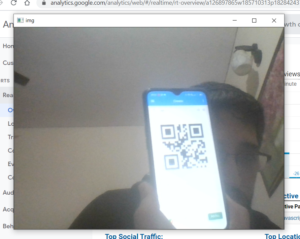 Python 3 (OpenCV + Numpy + Qrcode) Example Script to Scan or Read Qr Codes and Generate QR Codes Full Example Project For Beginners