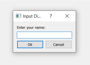 Python 3 PyQt5 Taking User Input Dialog Using Popup Window in QInputDialog Full Tutorial For Beginners