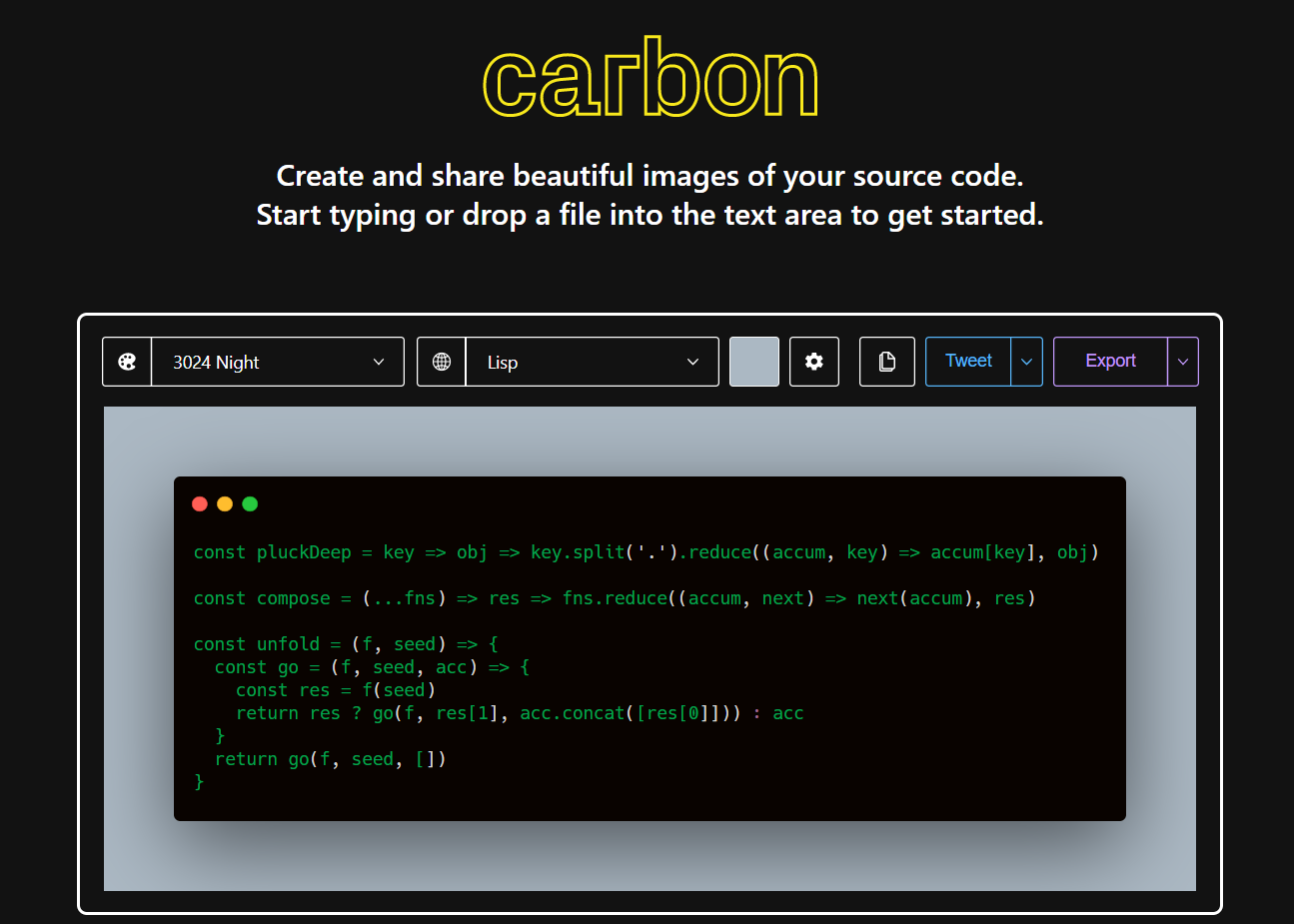 Python 3 Carbon Source Code Snippet Generator and Download as PNG File with Beautiful Themes and Colors Script Full Project For Beginners