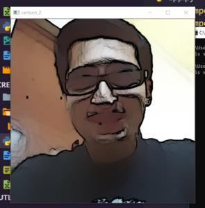 Python 3 OpenCV Script to Cartoonify an Image or Add Special Cartoon Effects to Image Files Full Project For Beginners