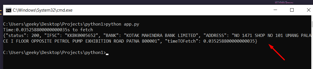 Python 3 IfscAPI Module to Get Bank Details From IFSC Code Full Project For Beginners