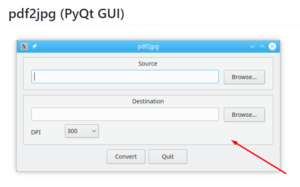 Python PyQt5 GhostScript Example to Convert PDF to JPG/PNG Image Full Project For Beginners