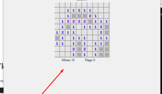 Python 3 Tkinter Minesweeper Game GUI Desktop App Using Random and Datetime Library Full Project For Beginners With Source Code