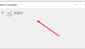 Python Tkinter Celsius to Fahrenheit or Vice Versa Temperature Converter GUI Desktop App Full Project With Source Code For Beginners