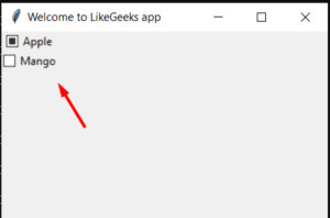 Python 3 Tkinter Checkbutton Widget Example to Add List of Checkboxes Options inside GUI Desktop App Full Project For Beginners