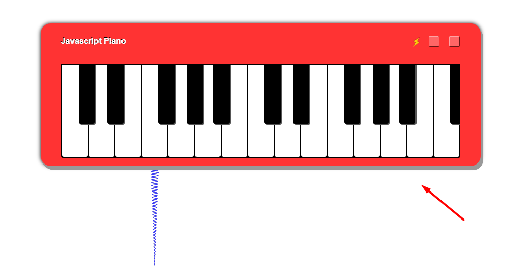Build a Music Keyboard Piano in Javascript Using Audio.js and jQuery Full Project For Beginners
