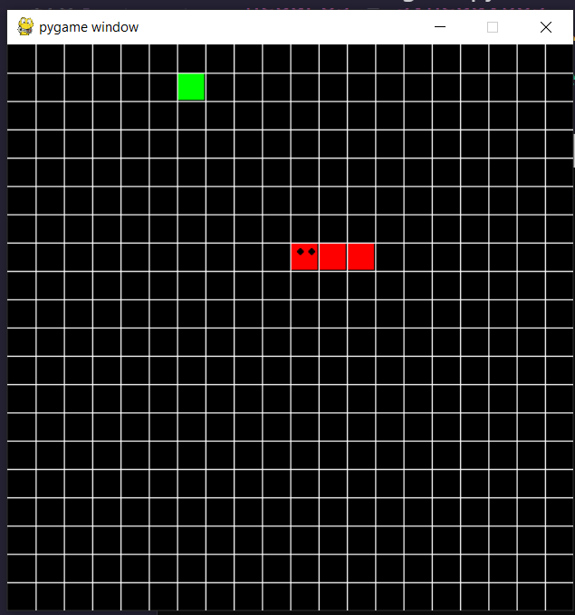 Python 3 Tkinter Arcade 2D Grid Snake Apples Game Using PyGame Library GUI Script Desktop App Full Project For Beginners