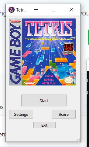 Python 3 PyQt5 Tetris DOS Game Using Sqlite3 Database with Music and High Scores GUI Script Desktop App Full Project For Beginners