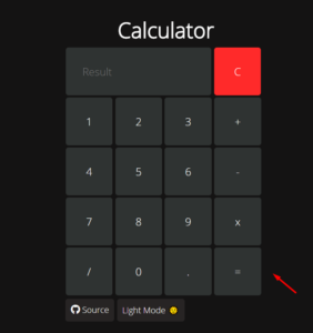 Build a Modern Dark and Light Mode Theme UI Arithmetic Calculator in HTML5 CSS3 and Javascript Full Project For Beginners