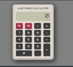 Javascript Stylish Font Arithmetic Calculator in HTML5 and CSS3 Full Project For Beginners