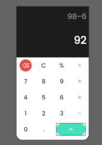 Javascript Custom Style Arithmetic Calculator with Google Fonts in HTML5 & CSS3 Full Project For Beginners