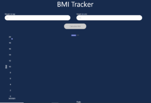 React.js Hooks BMI (Body Mass Index) Calculator Using Chart.js Library and Height and Weight Full Project For Beginners