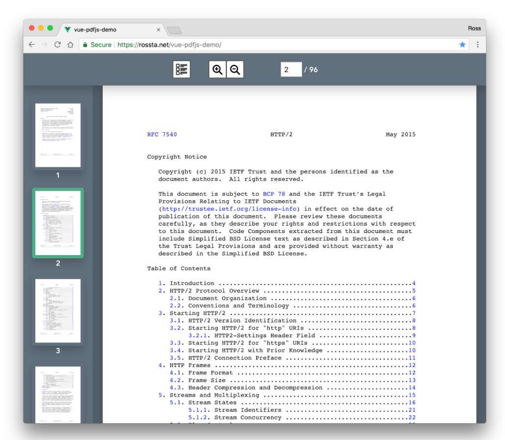 Vue.js PDF.js Library PDF Viewer Example to Display PDF Documents inside Browser Using Javascript Full Project Full Project For Beginners