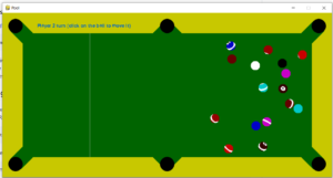 Python 3 PyGame Billiards Cue Snooker Pool Game GUI Desktop App Full Project For Beginners