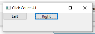 Python 3 WxPython Mouse Click Event Example to Get Number of Mouse Left and Right Clicks inside Label GUI Desktop App Full Project For Beginners