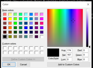 Python 3 WxPython RGB Hexadecimal Colorpicker Dialog or Modal Tutorial to Get Selected Color Value GUI Desktop App Full Project For Beginners