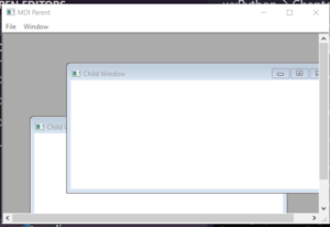Python 3 WxPython mdi Child Frame Popup Window in GUI Desktop App Full Project For Beginners