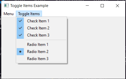 Python 3 WxPython Toggle Menubar Items by Checkbox and Radiobuttons GUI Desktop App Full Project For Beginners