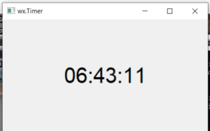 Python 3 WxPython Stopwatch Digital Clock Timer Example in GUI Desktop App Full Project For Beginners
