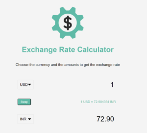 Build a Currency Exchange Rate Converter App in Javascript Using Stock Exchange API Full Project For Beginners
