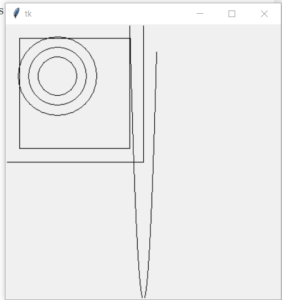 Python 3 Tkinter Draw Circles,Rectangles and Lines Shapes GUI Desktop App Full Project For Beginners