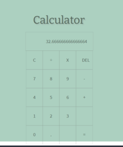 Vue.js Simple Arithmetic Calculator in Browser Using HTML5 CSS3 and Javascript Full Project For Beginners