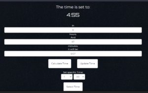 Build Time Duration Calculator By Hours and Minutes in Javascript and Bootstrap UI CSS Framework Full Project For Beginners