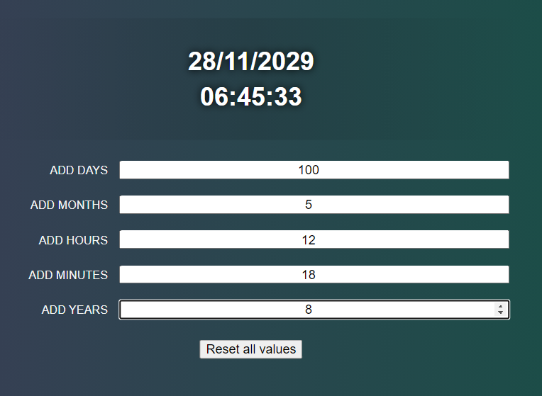 Build a Vue.js Date Time Manipulation Calculator in Browser Using date-fns date utility Library in Javascript Full Project For Beginners