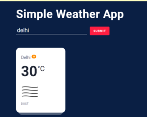 Build a Weather App with Custom Icons Using OpenWeather API in Vanilla Javascript Full Project For Beginners