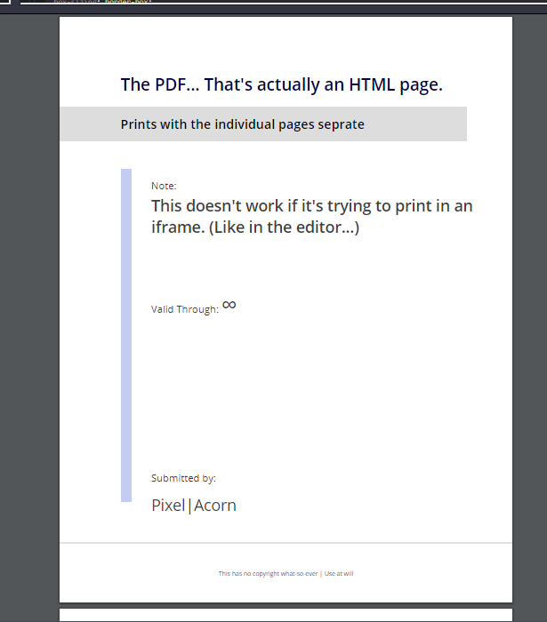 Build a Custom Style HTML Adobe PDF Document Viewer Template Layout in HTML5 & CSS3 Full Project For Beginners