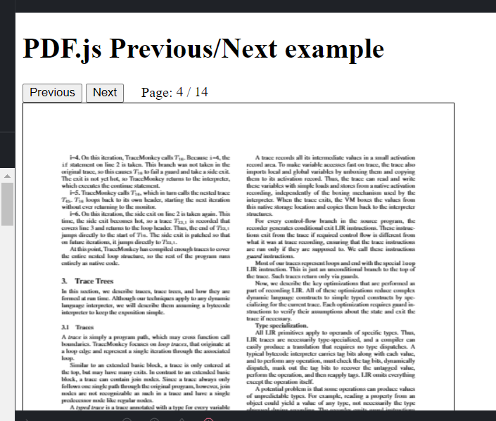 Build a HTML5 PDF Document Viewer Using Mozilla PDF.js Library in Browser Using Javascript Full Project For Beginners
