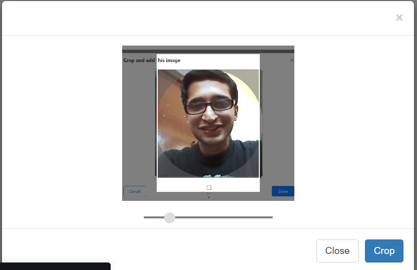 Build a Image Popup Modal Cropper Using Croppie and Bootstrap Library in Javascript