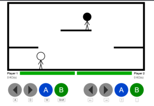 Build a Multiplayer Stick Fighting Game in Browser Using HTML5 CSS3 and Javascript Full Project For Beginners