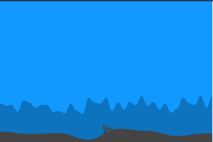 Build a Mountain Motocross Madness Bike Riding Game in Browser Using HTML5 CSS3 and Javascript Full Project For Beginners
