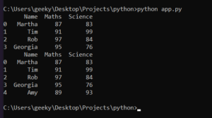 Python 3 Pandas Script to Add New Rows to Existing DataFrame Using Append() and Concat() Method Full Example Project For Beginners