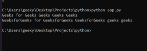Python 3 replace() Script to Replace All Occurences in String Full Project For Beginners