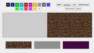 Build a Minecraft Color Text Generator in Browser Using HTML5 CSS3 and Javascript Full Project For Beginners