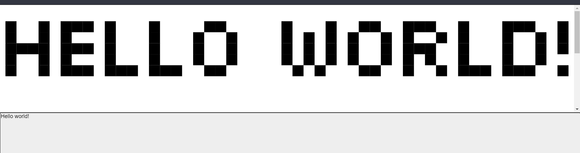 Build a React.js Pixel Art Text Generator in Browser Using HTML5 CSS3 and Javascript Full Project For Beginners